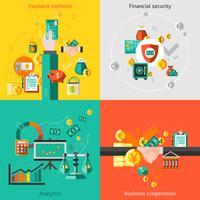 Set piatto di finanza