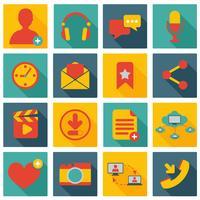 Icone della rete sociale