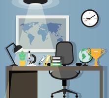 Design del posto di lavoro dell'ufficio