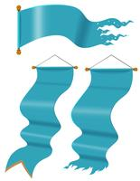 Bandiere blu in tre design