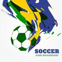 sfondo astratto di calcio vettore