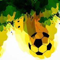 illustrazione di calcio vettore