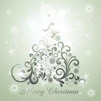 albero di Natale vettoriale