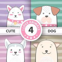 Impostare personaggi dei cartoni animati piuttosto cane.