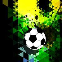 design creativo di calcio vettore