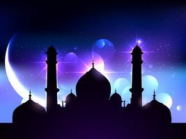 design del festival di ramadan