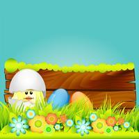 vettore di disegno di Pasqua