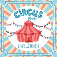 poster retrò del circo
