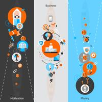 Banner concetto di business