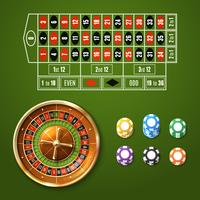 Set di roulette europea