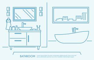 Profilo di mobili da bagno
