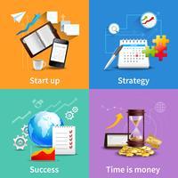 Concetti di Business Design vettore