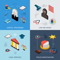 Set isometrico di legge