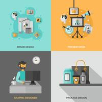 Set di icone di branding