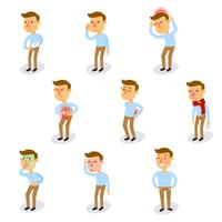 Set di caratteri malati