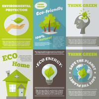 Poster Eco Energy vettore