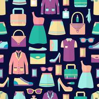 Shopping senza motivo vettore