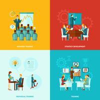 formazione aziendale piatta