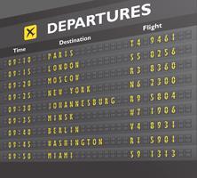 Stampa della scheda dell'aeroporto