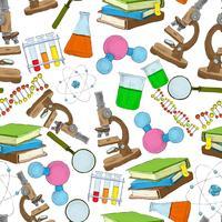 Scienza schizzo senza soluzione di carta da parati
