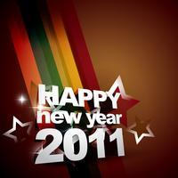 felice anno nuovo sfondo vettore