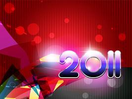 felice anno nuovo vettore