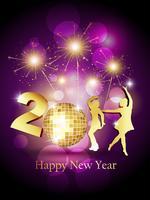 nuovo anno vettore