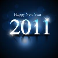 nuovo anno splendente vettore