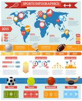 Set di infografica sportiva