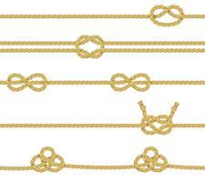 Set di corde a maglia