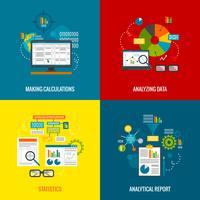 Set di dati di analisi dei dati vettore