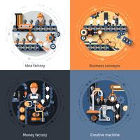 Set di trasportatori aziendali