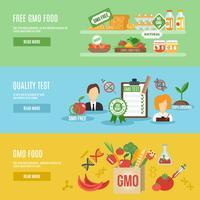 set di banner OGM