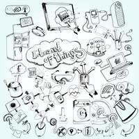 Doodles di Internet delle cose