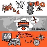 Set di Banner di navigazione