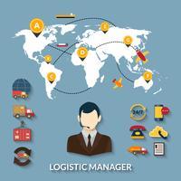 Infographics Manager logistico