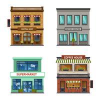 Set ufficio negozio negozio vintage