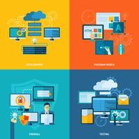 Set piatto di sviluppo del programma