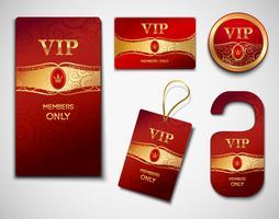 Modello di progettazione di carte VIP