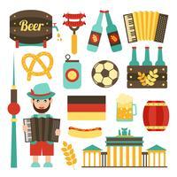 Set da viaggio della Germania