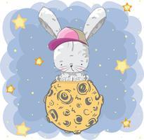 Coniglio bambino carino