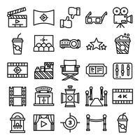 Pacchetto di icone del cinema