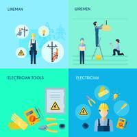 Set elettricità 2x2 design