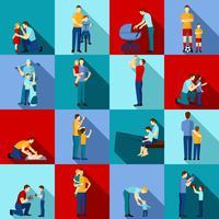 Set piatto della paternità