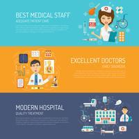 Set di banner medico