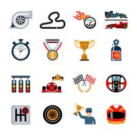 set di icone di corse