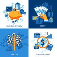 Concetto di design di finanza