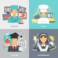 Set piatto di professione