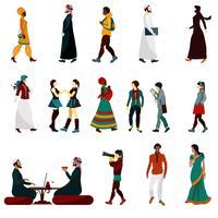 Set persone orientali