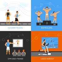 concetto di design del trainer